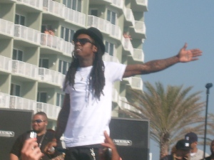 Lil' Wayne picture I took at a spring break concert 3.12. 09